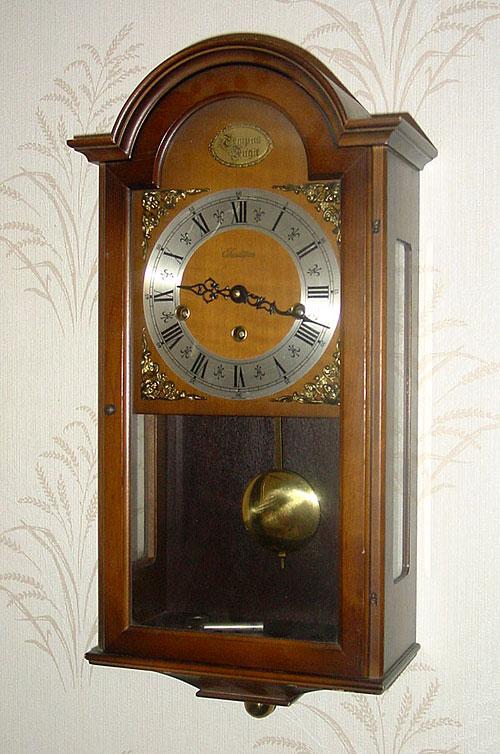 W Haid Westminster Chime Wall Clock Circa 1972